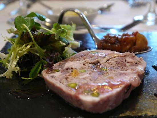 Lodore Falls Lake View Restaurant : Amazing Game Terrine and Home-made Chutney