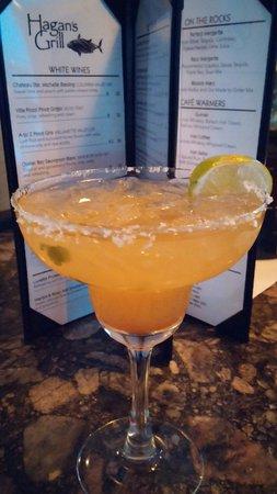 Hagan's Grill: Jalopeno Margarita was AMAZING!