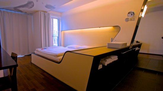 Hotel Q!: soveværelse