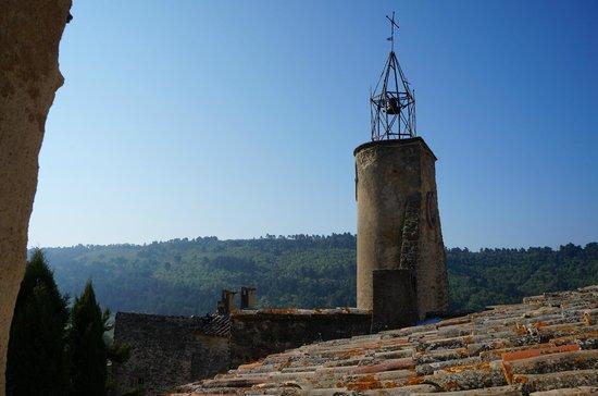 Un Patio en Luberon : vue chambre Vaugines