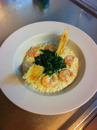Rakovica, Croazia: Risotto with shrimps