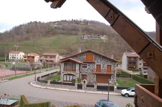 Hotel Grevol Spa : Vista norte desde el balcón
