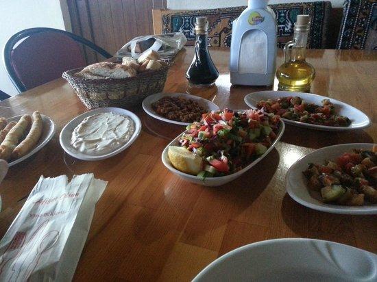 Gul Mountain Residence Hotel: Vorspeise Abendessen
