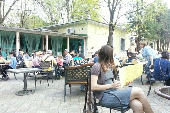 Arkhangelskoye Estate and Museum : Кафе Архангельское.