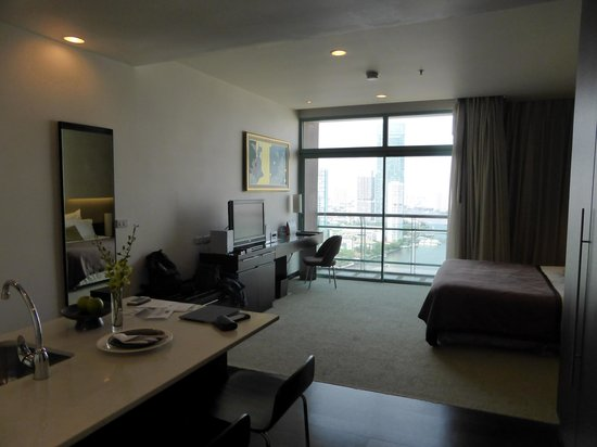 Chatrium Hotel Riverside Bangkok: Zimmer