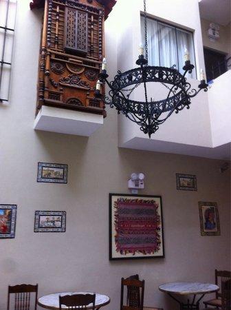 Hotel Casa Suyay: Hotel patio