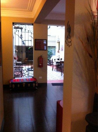 Hotel Casa Suyay: Couloir