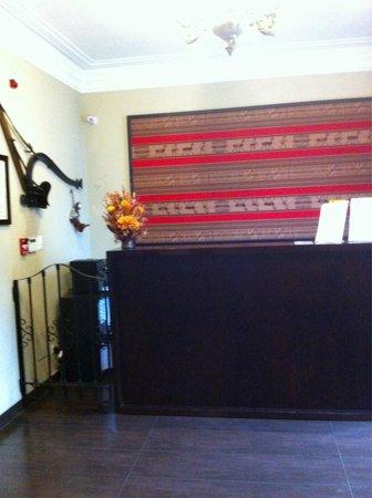 Hotel Casa Suyay: Reception