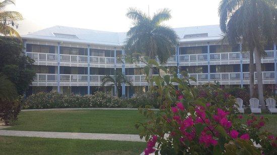 Hotel Riu Palace St Martin: Vista para o hotel.
