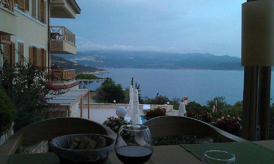Lycia Hotel : Вид из ресторана отеля на Каш