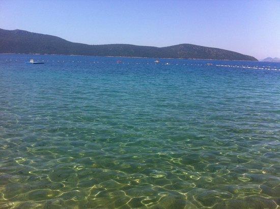Ersan Resort & Spa: Mer Egée