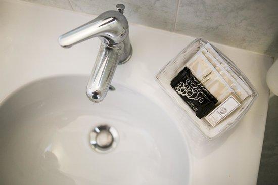 Hotel Silvia: un dettaglio dei bagni