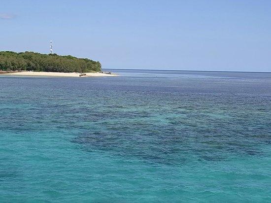Green Island : エメラルドグリーン