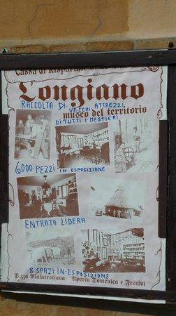 Longiano, Italien: manifesto museo del territorio