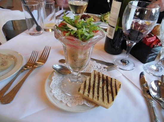 The Keswick Country House Hotel : Another beautifully prepared starter