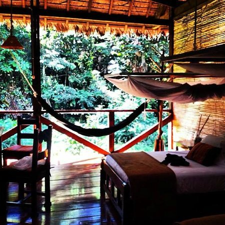Refugio Amazonas: Our room w/ electicity at certain times