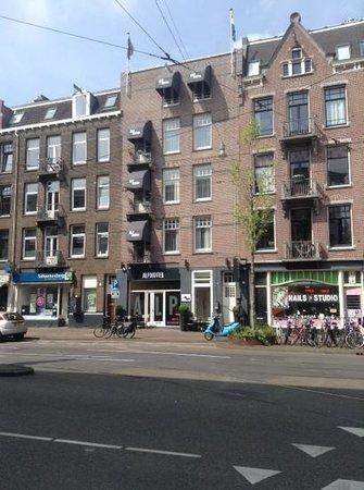 Alp Hotel Amsterdam: вид