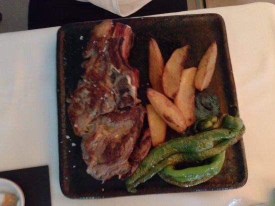 Restaurant Ses Oliveres: chuleton ton...