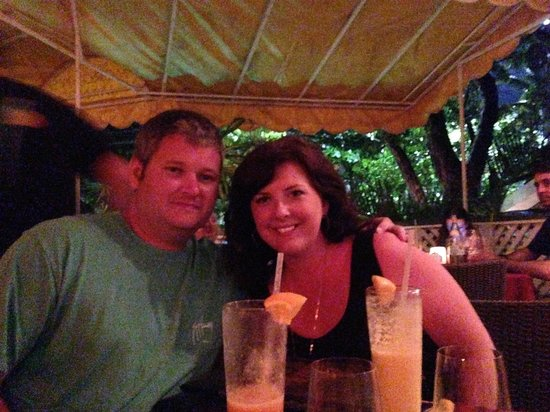 Wife & I at Morgan's Mango