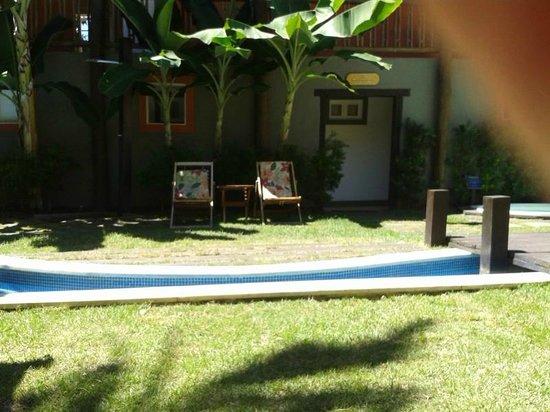 Hotel Pousada Tatuapara: Área de piscina