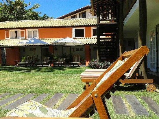 Hotel Pousada Tatuapara: Área da piscina muito boa