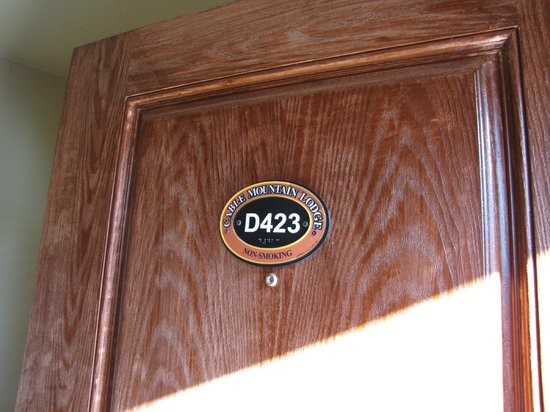 Cable Mountain Lodge: room D423