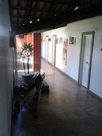 Hotel Pousada Tatuapara: Hall de entrada