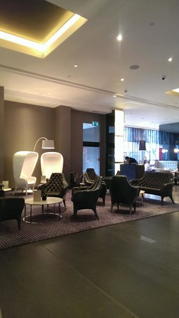 Pullman London St Pancras Hotel : Lobby