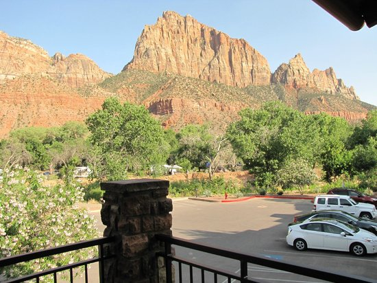 Cable Mountain Lodge: view, WOW