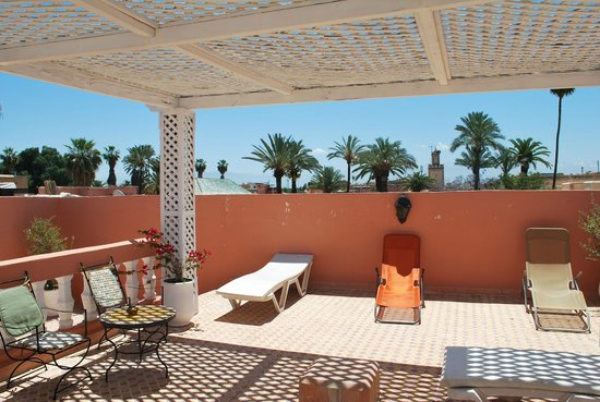 Riad les Oliviers : Terrasse