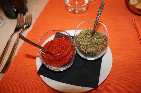 Taverna San Lio: épices (thym et piment)