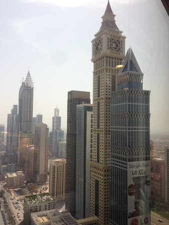 Jumeirah Emirates Towers: view