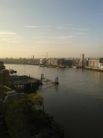 The Tower: View of the River Thames