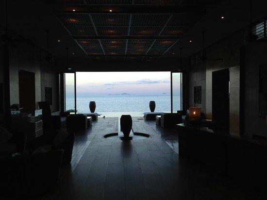 Mia Resort Nha Trang : A very welcoming entrance lobby