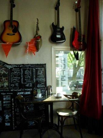 BackStage Hotel Amsterdam: Decoração