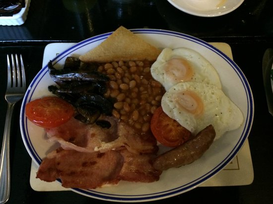 Kirkstone Pass Inn: Full Breakfast