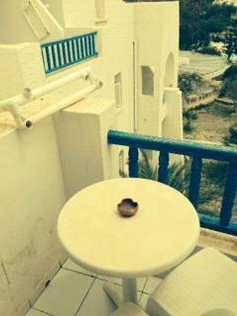 Hotel Abir : Balcony