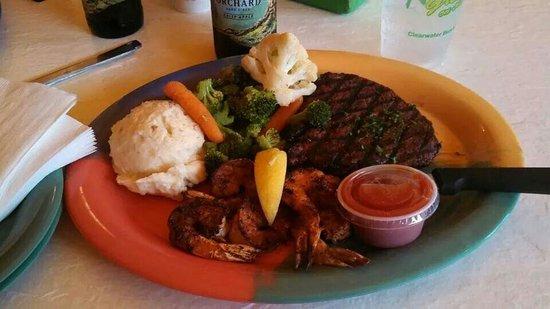Frenchy's Rockaway Grill: Overdone steak