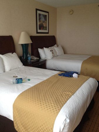 Doubletree by Hilton Hotel Denver : Very nice and comfortable bed, thank you