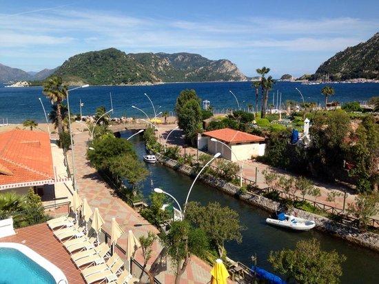 Fortuna Beach Hotel: Room view