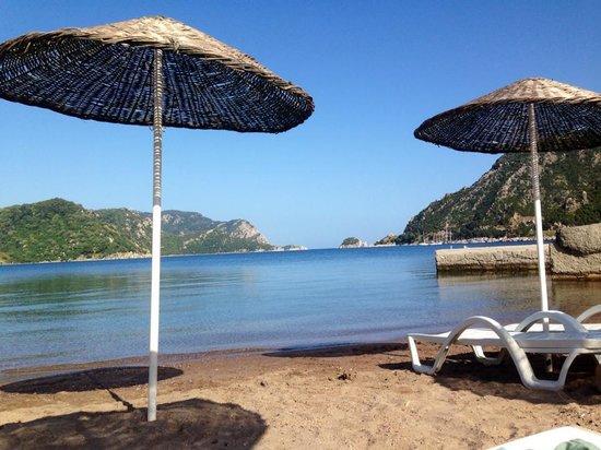 Fortuna Beach Hotel: Private beach