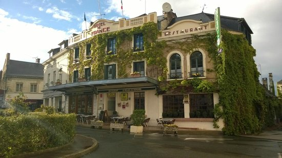 Hotel de France - Le Relais de Ronsard : Hotel de France exterior April 2014
