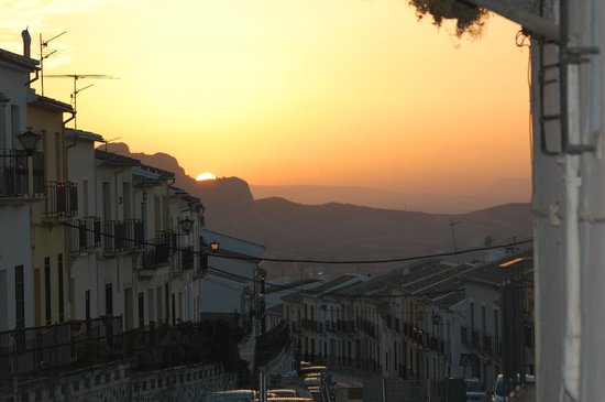 Almohalla 51: Sunset over Archidona