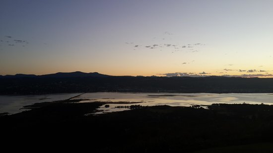 Brenton Hill Self Catering: Sunset view from the room