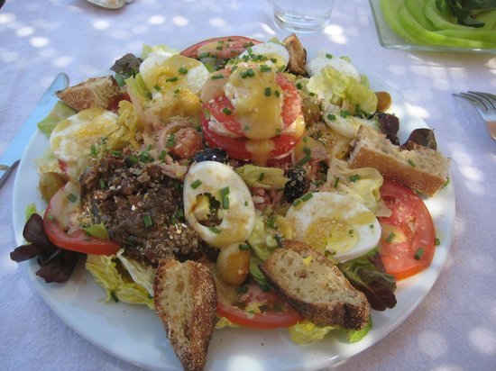 Villa Amaryllis : Salade Marocaine, bon appétit !!