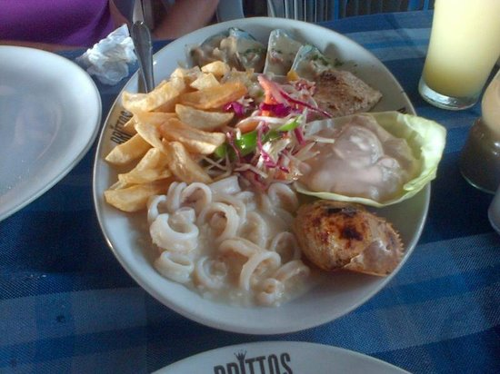 Britto's: Seafood Platter