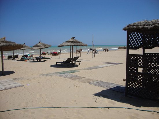 The Residence Tunis : beach area