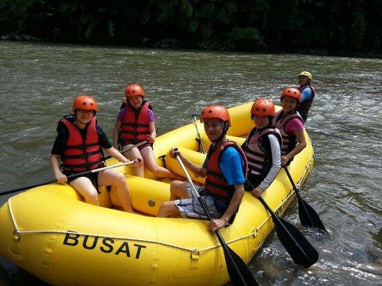 Kiulu River : All set to go