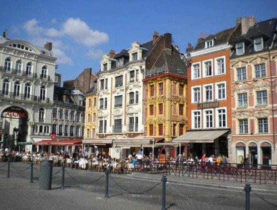Le35Bis : Vue du Vieux Lille