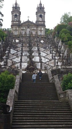 Bom Jesus do Monte : escadaria do santuário